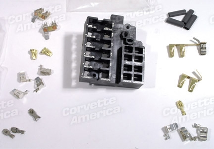 [DIAGRAM_1JK]  1-40380 64-66 Fuse Block Repair Kit. | 1966 Corvette Fuse Box |  | Corvette Parts Worldwide