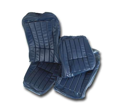 Phenomenal 1 419047 1971 Corvette Leather Seat Covers Royal Blue Leather Vinyl Original Pdpeps Interior Chair Design Pdpepsorg