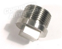 1 42842 65 79 Rear End Drain Plug Stainless Steel