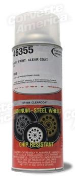 Corvette Part 38846 Wheel Paint Clear Coat