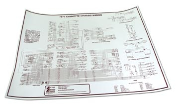 corvette specialties - 490077, Wiring diagram