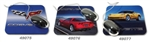 corvette part Mouse Pad Yellow C6 Coupe