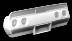 Bcf020 80 82 Style High Rise Rear Bumper Fits 74 82