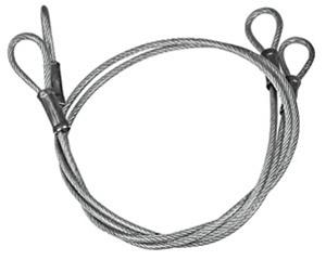 HPK-1005 1970-1972 Super Sport Hood Pin Cables