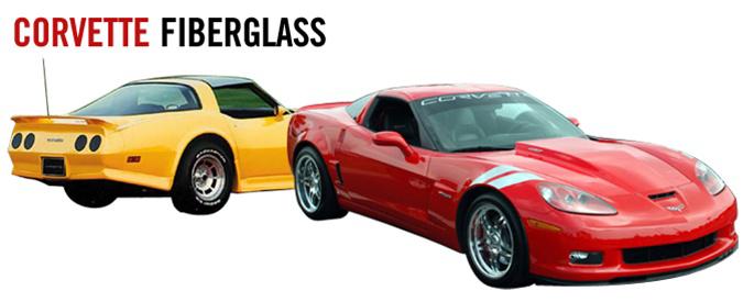 Corvette Fiberglass Body Parts