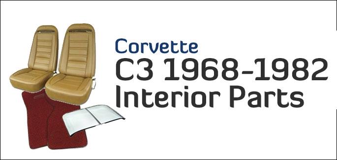 C3 Corvette Interior Parts 1968-1982