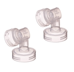 Hygeia Breast Flange Connectors - 2 Pack