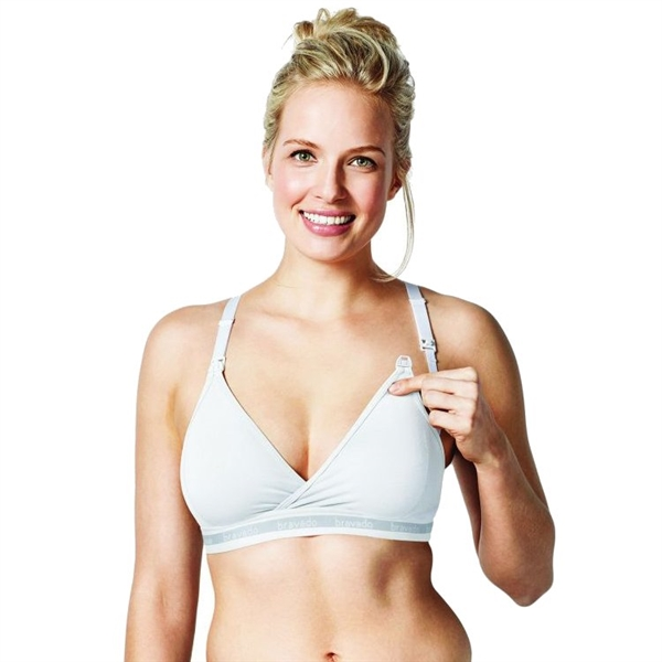 Bravado Original Nursing Bra - White