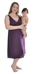 1023 Amamante Signature Plum Nursing Nightgown