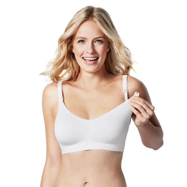 Bravado Body Silk Nursing Bra White