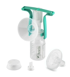 One Hand Manual Breast Pump with Flexishield