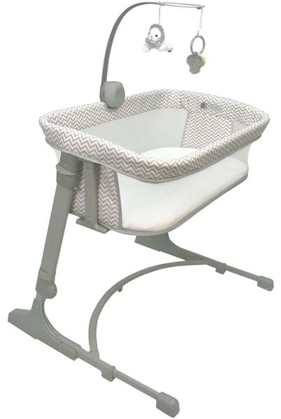 Arm's Reach Versatile CoSleeper Bassinet - Chevron