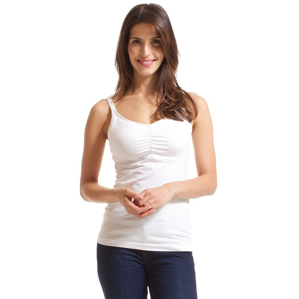 Bravado Dream Nursing Tank - White
