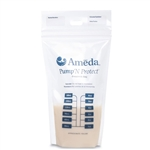 Ameda Pump 'N Protect Breast Milk Storage Bags - 50 Ct