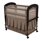 Arms Reach Cambria Bedside Co-Sleeper Bassinet - Toffee