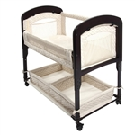 Arms Reach Cambria Bedside Co-Sleeper Bassinet - Natural