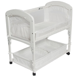 Arms Reach Cambria Bedside Co-Sleeper Bassinet - White