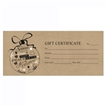 Gift Certificate in any amount!