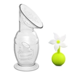 Haakaa Breast Pump with Suction Base & Flower Stopper