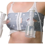 PumpEase Hands Free Pumping Bra - Hugs & Kisses