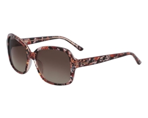 Bebe Poetic BB7160 Sunglasses: In Black and Tortoise