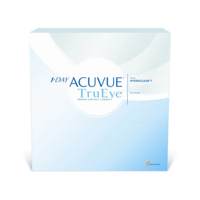 1 Day Acuvue TruEye 90 Pack Contact Lenses Johnson & Johnson