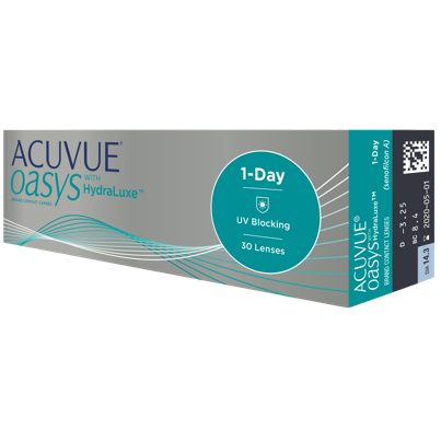 f394987baf7 Acuvue Oasys 1 Day with Hydraluxe 30 Pack