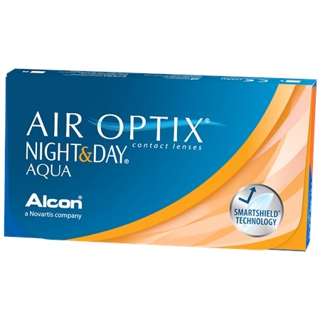 Air Optix Night and Day Aqua (6 pack) Contact Lenses