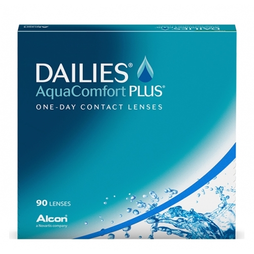 Focus Dailies Aquacomfort Plus 90 Pack Contact Lenses