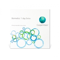 Biomedics One Day Extra Contact Lenses CooperVision 90 Pk