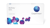 Biofinity Toric Contact Lenses CooperVision