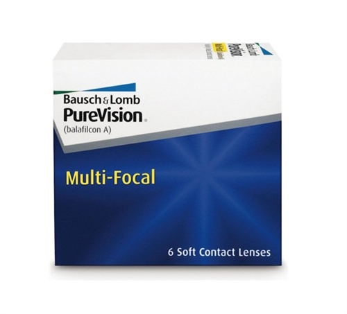 PureVision Multi-Focal Contact Lenses - Bausch + Lomb