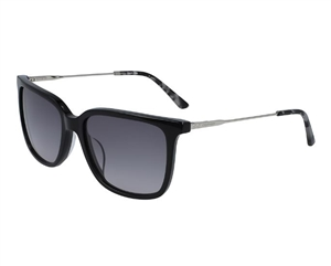 Calvin Klein CK19702S Sunglasses: Black and Rose Havana
