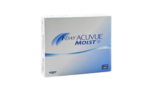 1 Day Acuvue Moist 90 pack Contact Lenses - Johnson & Johnson