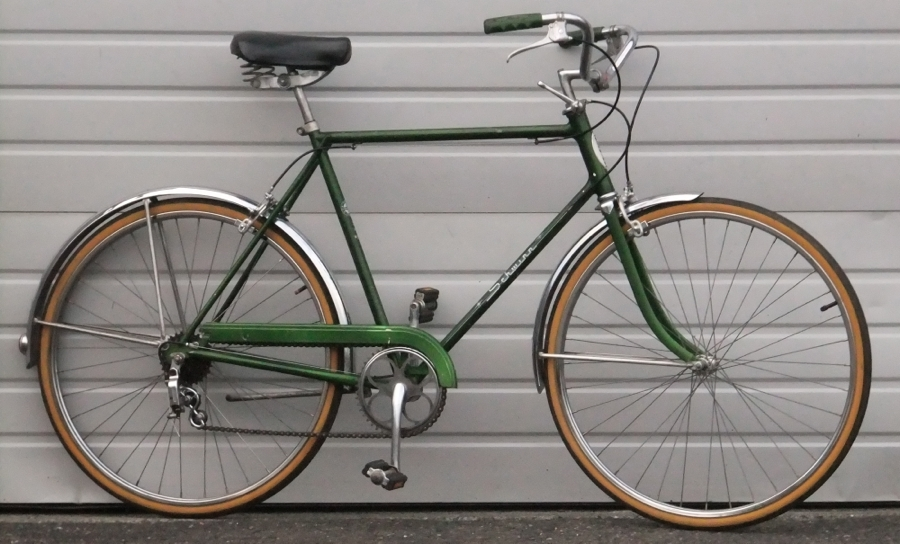 22 Vintage Schwinn Collegiate 5 Speed Utility Bike 5 9 6 1