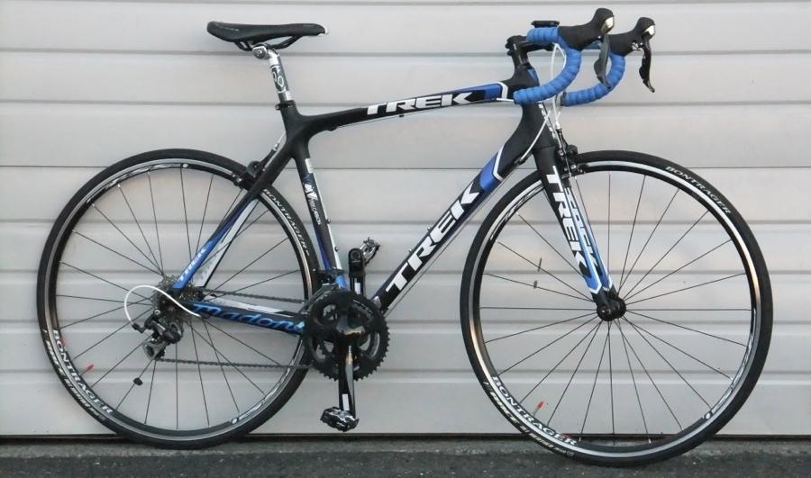 56cm 2011 Trek Madone 4 5 Carbon 105 Compact Road Bike 5 9