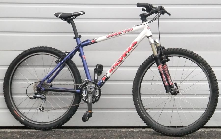 18 2005 Kona Cinder Cone Hardtail Mountain Bike 5 7 5 10