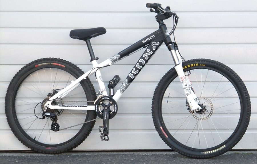14 Kona Shred Alumium Disc Hardtail Mountain Bike 5 3 5 7