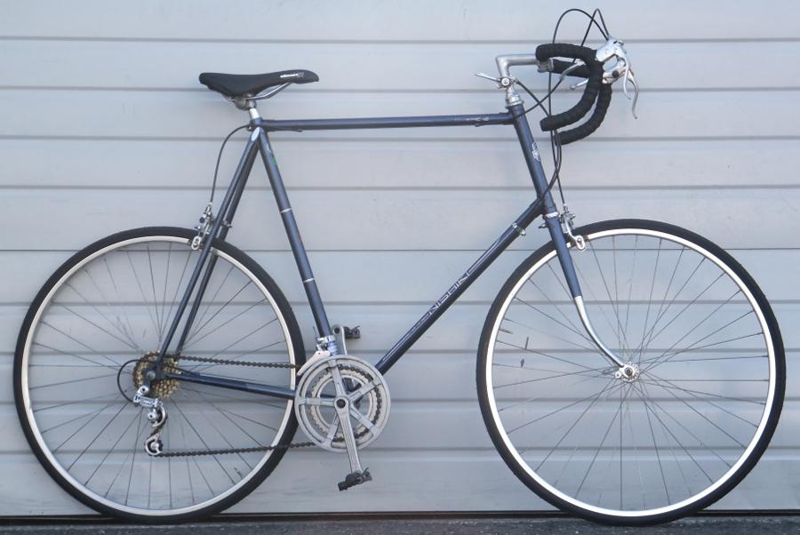 67cm Vintage Nishiki Olympic 12 Lugged Steel 12 Speed Road Bike 6