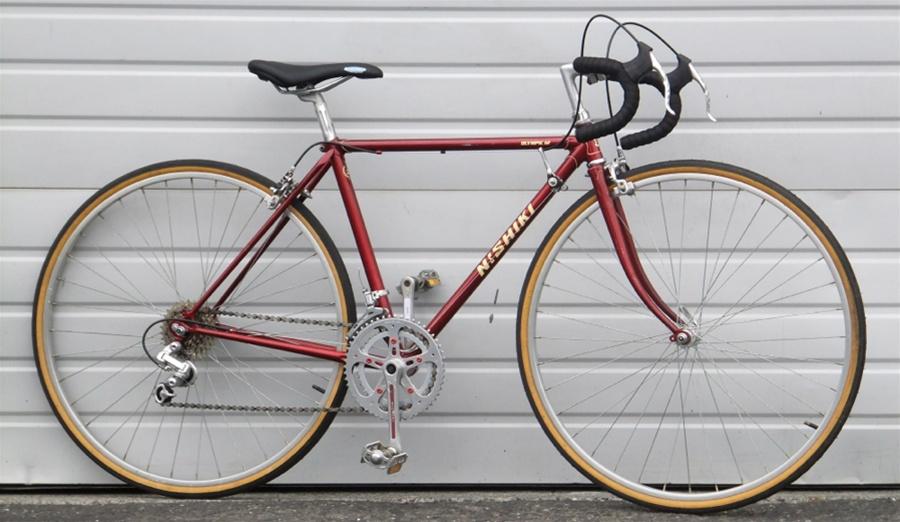 47cm Vintage Nishiki 12 Speed Road Bike 5 0 5 3