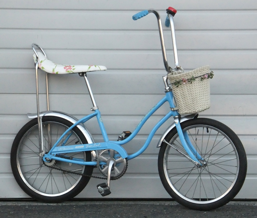 Classic Schwinn Fair Lady With Banana Seat Ape Hanger Handle Bars