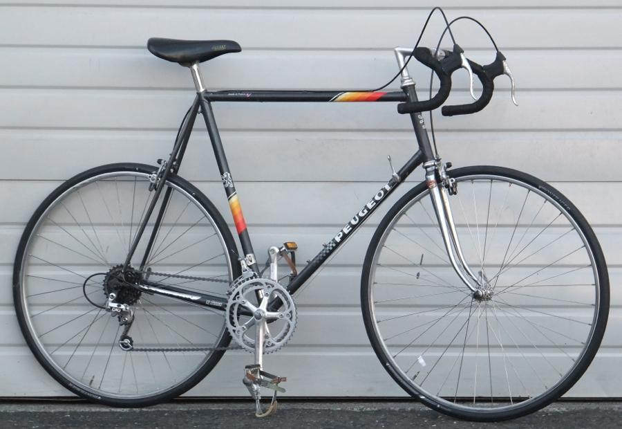 64cm Vintage Peugeot Lugged Steel 12 Speed Road Bike 6 2 6 5