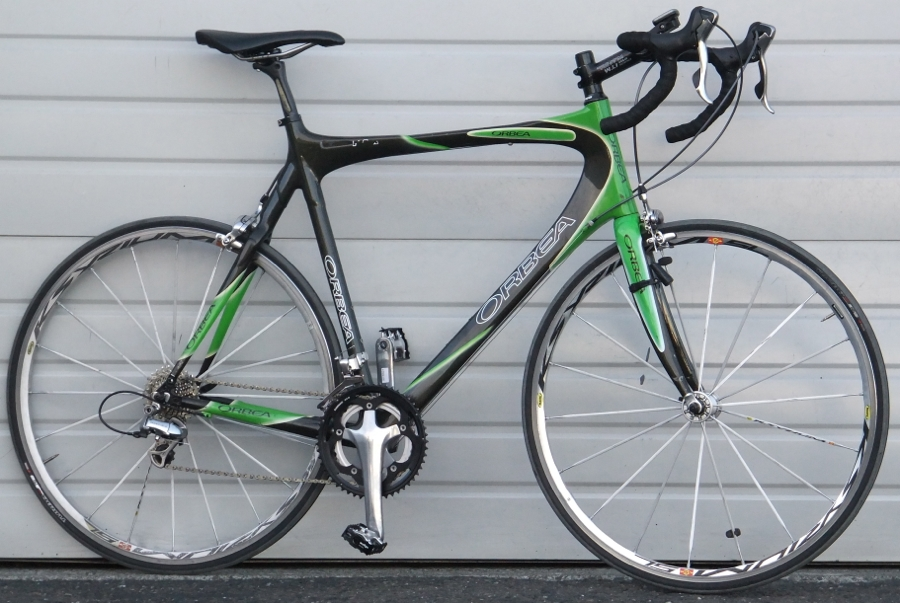 60cm Orbea Orca 20 Speed Carbon Road Bike 6 0 6 3