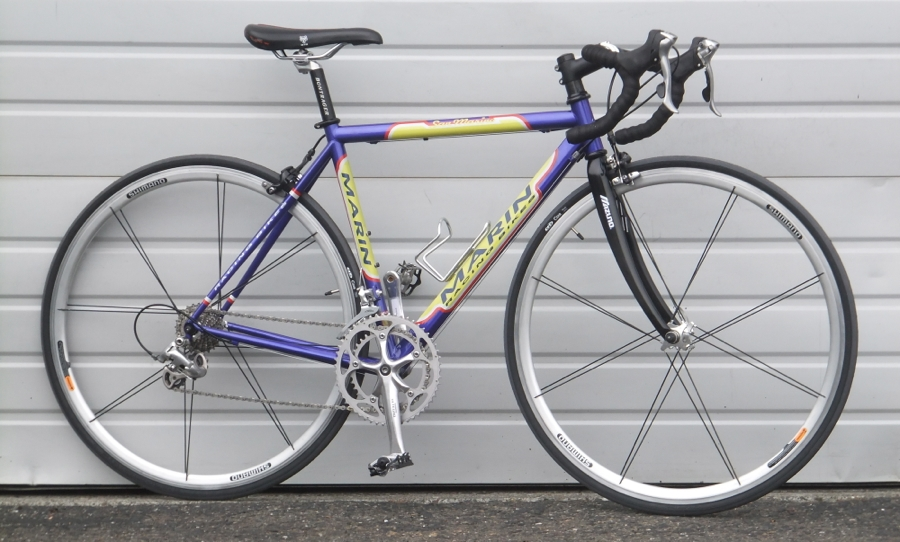 48cm Marin San Marino Steel Carbon Ultegra Road Bike 4 8 5 0