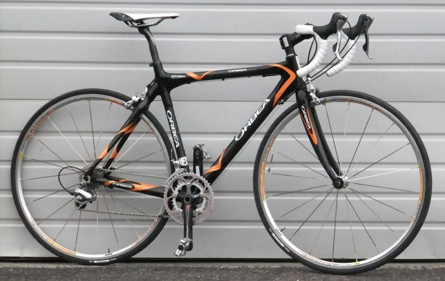 54cm Orbea Onix Full Carbon Compact 10 Speed Road Bike 5 7 5 10