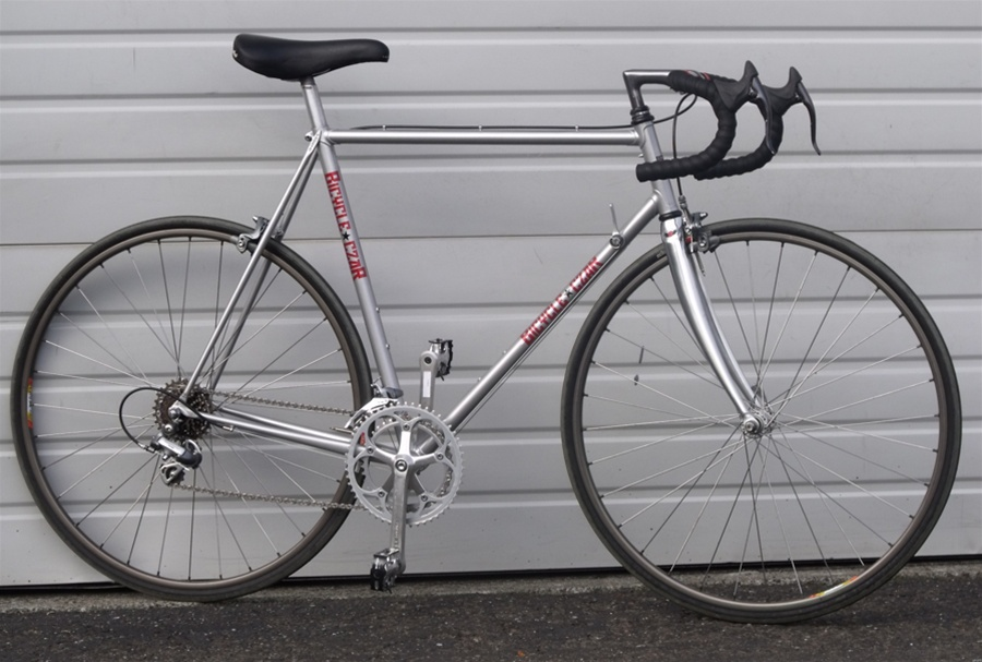 57cm Bicycle Czar Faggin Re Created 12 Speed Chromoly Road Bike 5
