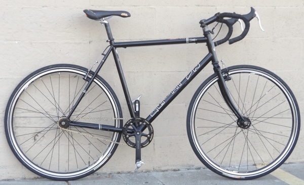 "57cm RALEIGH One-Way Single Speed Fixed Gear Road Commuter Bike ~5'11""-6'2"""