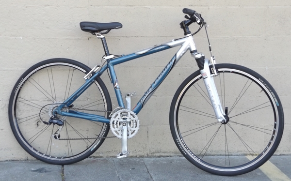 "17.5"" GARY FISHER Utopia Aluminum Suspension Deore Hybrid Bike ~5'6""-5'9"""