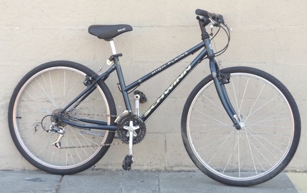 "16"" SCHWINN High Plains Step-Thru 21 Speed Utility Bike ~5'1""-5'4"""