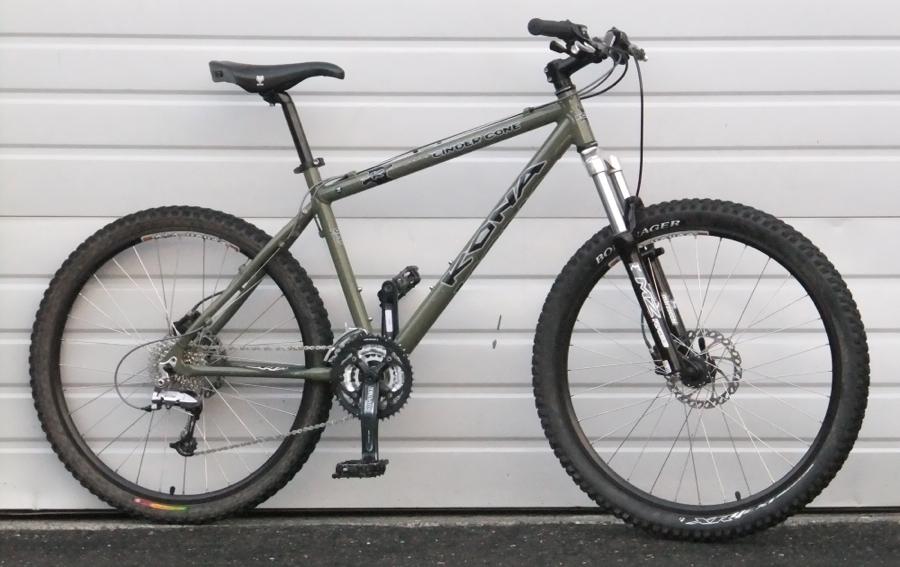18 2005 Kona Cinder Cone Hardtail Disc Mountain Bike 5 7 5 10